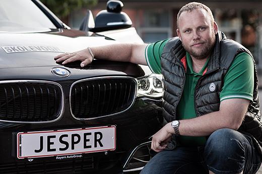 Kørelærer Jesper Olesen